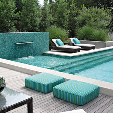 contemporary pool by Bonick Landscaping