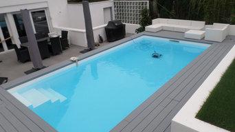 Poolbau Systemstein 3,50 x 7,00 x H 1,50 m
