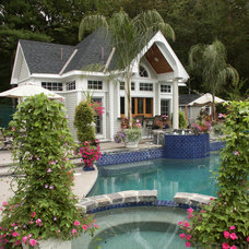 Traditional Pool by Meadowview Construction