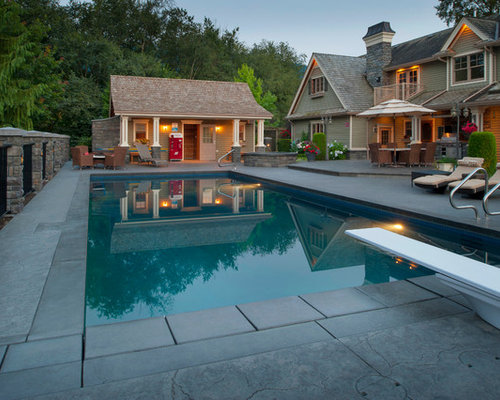 Poolhouse Layout Design Ideas, Pictures, Remodel and Decor