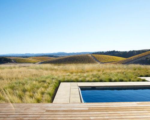 Backyard Pool Design 26 summer pool bar ideas to impress your guests Example Of A Trendy Backyard Rectangular Pool Design In San Luis Obispo Houzz