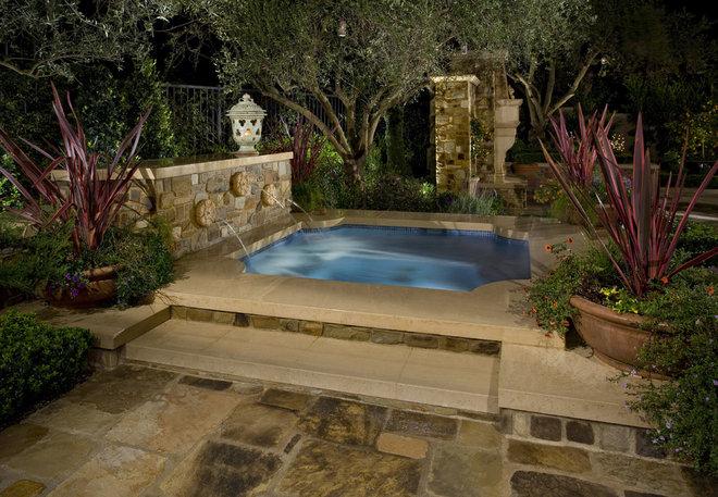 Mediterranean Pool by Mirage Landscape
