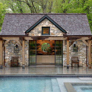 75 Most Por Rustic Pool House Design Ideas for 2018 - Stylish ... Pool House Ideas Designs on simple house design ideas, swimming pool cabana ideas, garage pool house ideas, pool house plans, pool house paint ideas, pool house layouts, good website design ideas, pool cabana design ideas, pool bedroom ideas, pool designs for small backyards, dog house designs ideas, inexpensive pool house ideas, pool patio deck designs, pool house with living quarters, lake house designs ideas, swimming pool renovation ideas, pool house shed design, pool house with apartment, pool house interiors, swimming pool house ideas,