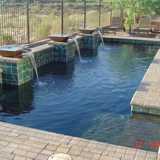 Eclectic Pool by MONSTER POOL COMPANY