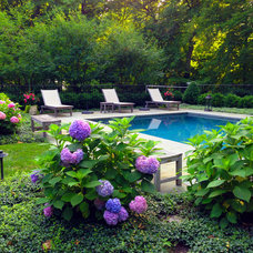 Traditional Pool by LaMond Design