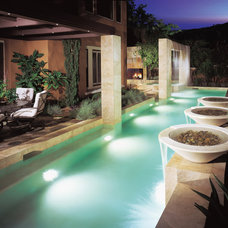 Contemporary Pool by Mark Scott Associates | Landscape Architecture