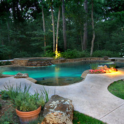 Pools custom designed and built swimming pool in tyler - Above ground swimming pools tyler texas ...