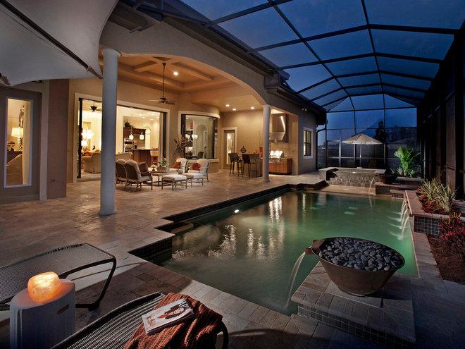 Tropical Pool by Serenity Pool & Spa
