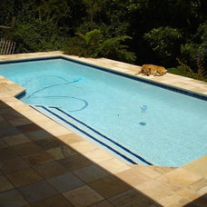 Traditional Pool by The Marble Merchant Pty Ltd