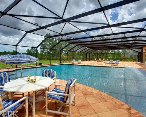 Eclectic orlando pool design ideas remodels photos for Pool design orlando