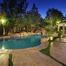 Rustic Pool by V.I.Photography & Design
