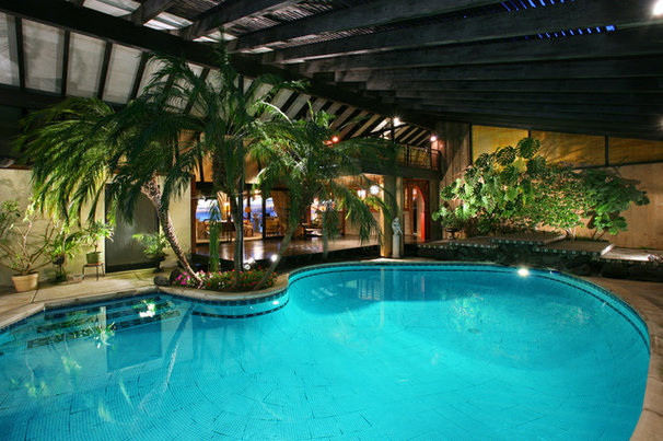 Tropical Pool by V.I.Photography & Design