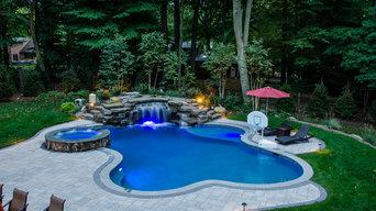 Pools with Natural Waterfalls