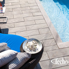 Modern Pool by Techo-Bloc