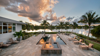 Poolside at Sunset