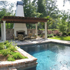 Traditional Pool by Ferris Land Design - Richard Hymel, ASLA