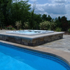 Contemporary Pool by All Seasons Spas