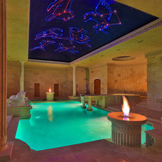 Eclectic Pool by AquaTerra Outdoors