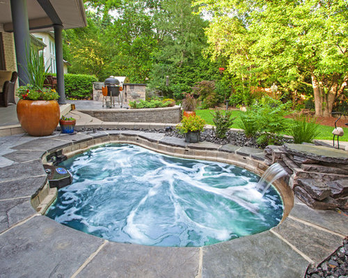 Hot Tub Water Fountain Design Ideas Remodel Pictures Houzz