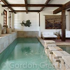 Mediterranean Pool by Gordon Gregory Photography