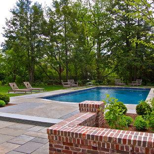 Portfolio of landscape and pool images.