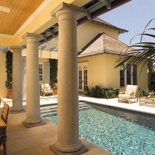 Kolonialstil Pool in Miami