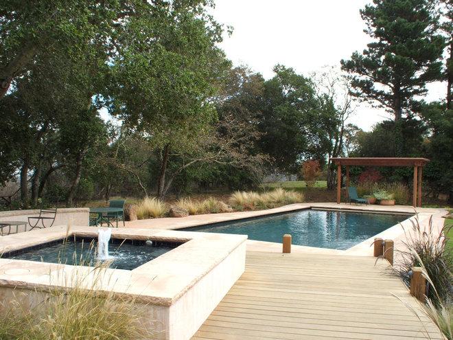 Modern Pool by Kikuchi + Kankel Design Group