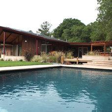 Midcentury Pool by Kikuchi + Kankel Design Group