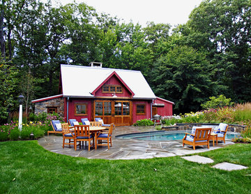 Post and Beam Pool House