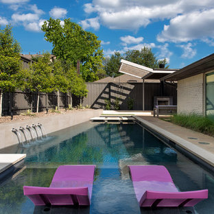 Prestonwood Modern Angular Pool + Cabana