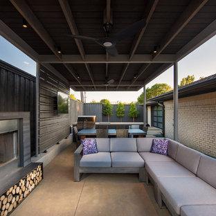 Prestonwood Modern Angular Pool + Cabana