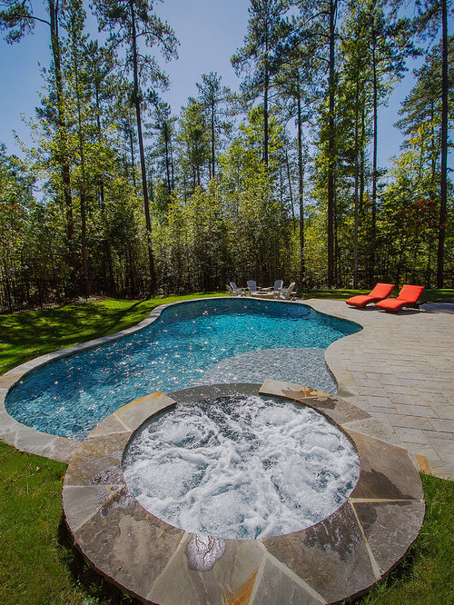 Country pool design ideas renovations photos with for Country pool ideas