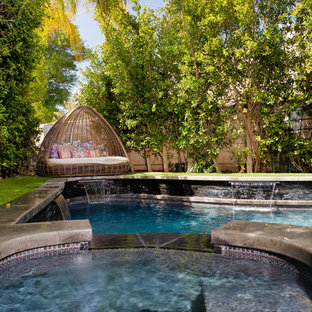 Inspiration for an eclectic pool remodel in Other