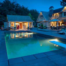 Traditional Pool by Revival Arts | Architectural Photography