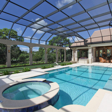 Private Bocce Ball Court and Swimming Pool