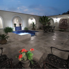 Contemporary Pool by Shehan Pools