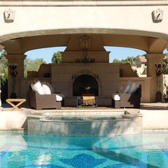 mediterranean pool by J ANDREW DEVELOPMENT
