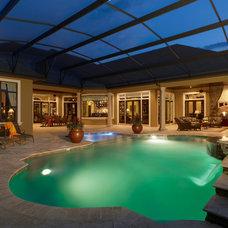 Traditional Pool by Niemann Interiors