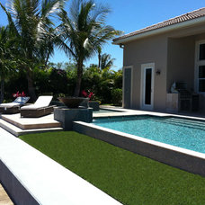 Contemporary Pool by Urban Design South