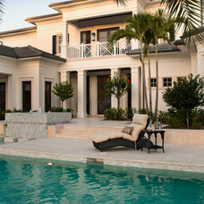 Traditional Pool by London Bay Homes