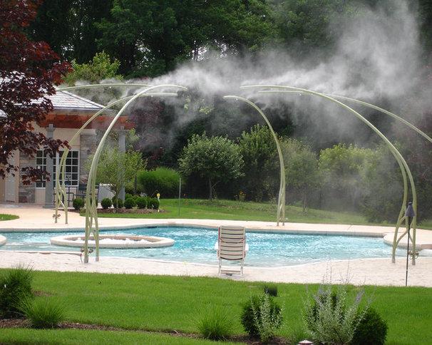 Eclectic Pool by L & H Pools, LLC.