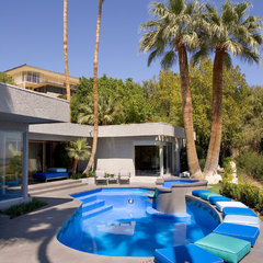 modern pool by Semco Remodeling