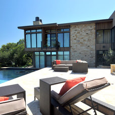 Modern Pool by RJ Dailey Construction Co.