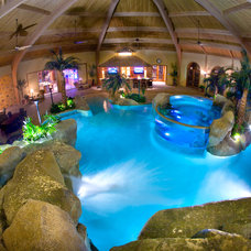 tropical pool by Shehan Pools