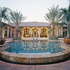 Mediterranean Pool by Studio 81 International