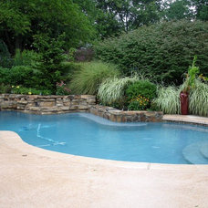 Traditional Pool by L & H Pools, LLC.