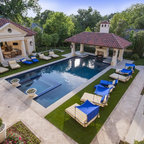 Private Residences Mediterranean Mediterranean Pool Dallas By Fusch Architects Inc