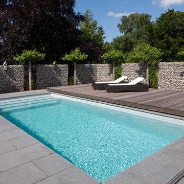 Privater GFK Pool