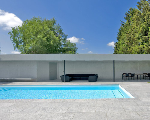 outdoor gestaltung mit poolhaus ideen design bilder houzz. Black Bedroom Furniture Sets. Home Design Ideas