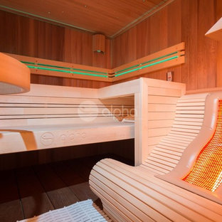 Project Outdoor Sauna Combi + Infrared Lounger